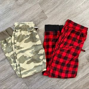 Two pairs of women's joggers💋
